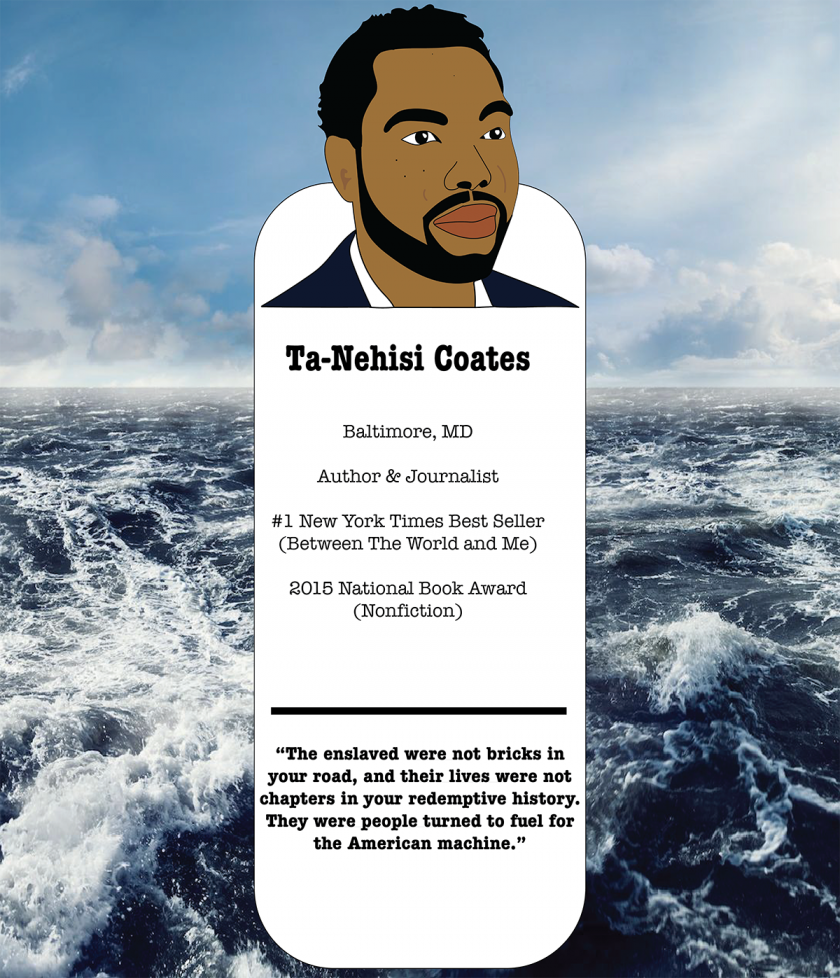 Ta-Nehisi bookmark created for Black History Month