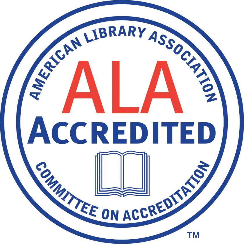 Image of American Library Association accreditation logo