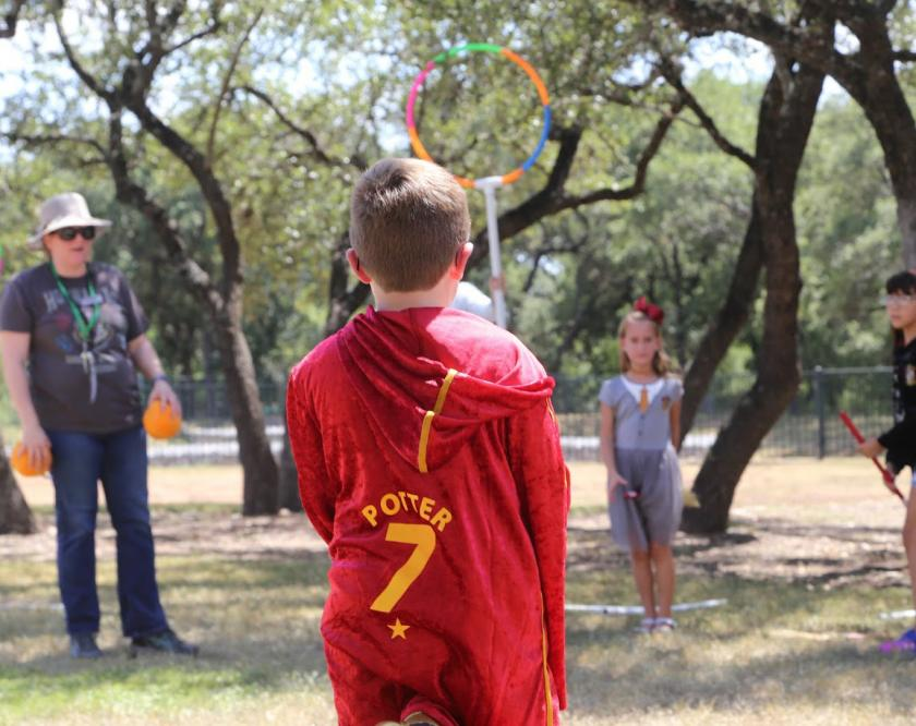 Quidditch at the Harry Potter festival